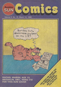 Cover Thumbnail for Sunday Sun Comics (Toronto Sun, 1977 series) #v5#18