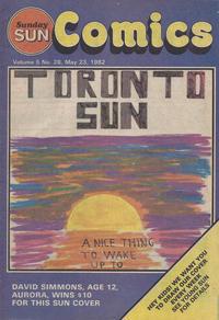 Cover Thumbnail for Sunday Sun Comics (Toronto Sun, 1977 series) #v5#28