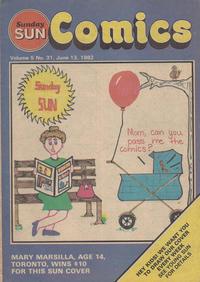 Cover Thumbnail for Sunday Sun Comics (Toronto Sun, 1977 series) #v5#31