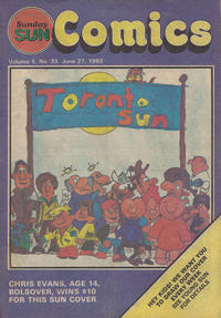 Cover Thumbnail for Sunday Sun Comics (Toronto Sun, 1977 series) #v5#33