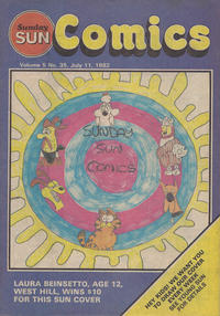 Cover Thumbnail for Sunday Sun Comics (Toronto Sun, 1977 series) #v5#35