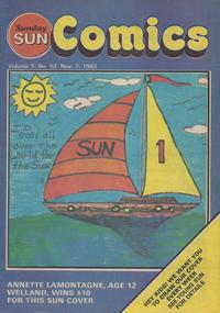 Cover Thumbnail for Sunday Sun Comics (Toronto Sun, 1977 series) #v5#52