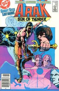 Cover Thumbnail for Arak / Son of Thunder (DC, 1981 series) #50 [Canadian]