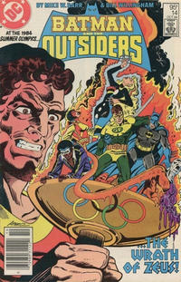 Cover Thumbnail for Batman and the Outsiders (DC, 1983 series) #14 [Canadian]