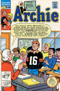 Cover Thumbnail for Archie (Archie, 1959 series) #373 [Direct]