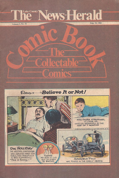 Cover for The News Herald Comic Book the Collectable Comics (Lake County News Herald, 1978 series) #v3#32