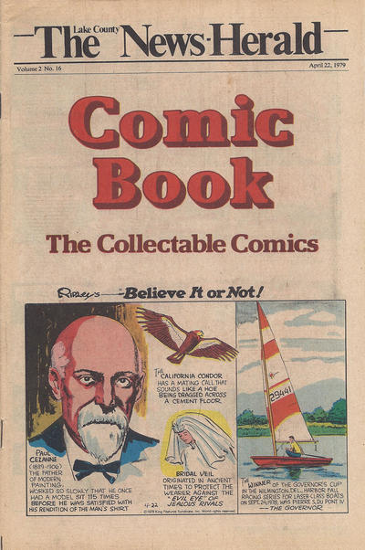 Cover for The News Herald Comic Book the Collectable Comics (Lake County News Herald, 1978 series) #v2#16