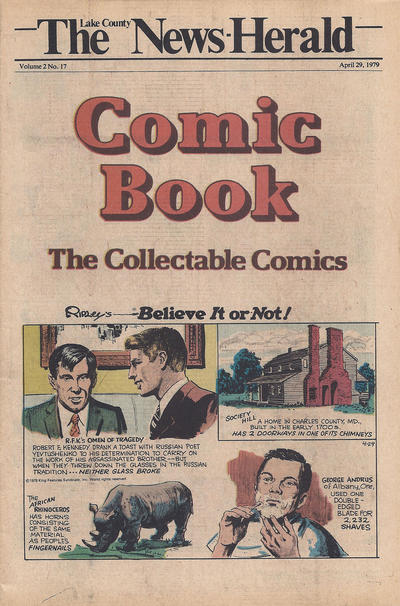 Cover for The News Herald Comic Book the Collectable Comics (Lake County News Herald, 1978 series) #v2#17