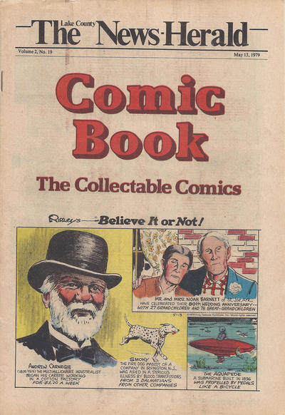 Cover for The News Herald Comic Book the Collectable Comics (Lake County News Herald, 1978 series) #v2#19