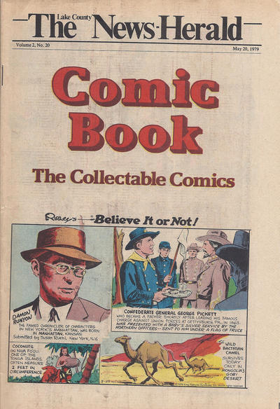 Cover for The News Herald Comic Book the Collectable Comics (Lake County News Herald, 1978 series) #v2#20