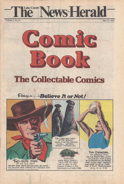 Cover for The News Herald Comic Book the Collectable Comics (Lake County News Herald, 1978 series) #v2#21
