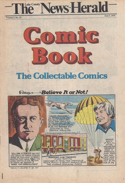 Cover for The News Herald Comic Book the Collectable Comics (Lake County News Herald, 1978 series) #v2#22