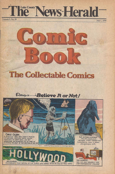 Cover for The News Herald Comic Book the Collectable Comics (Lake County News Herald, 1978 series) #v2#26