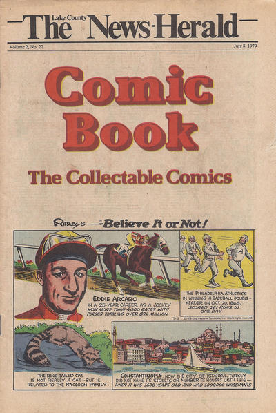Cover for The News Herald Comic Book the Collectable Comics (Lake County News Herald, 1978 series) #v2#27