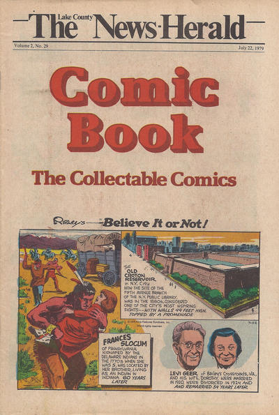 Cover for The News Herald Comic Book the Collectable Comics (Lake County News Herald, 1978 series) #v2#29