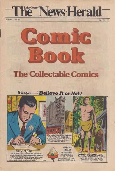 Cover for The News Herald Comic Book the Collectable Comics (Lake County News Herald, 1978 series) #v2#30