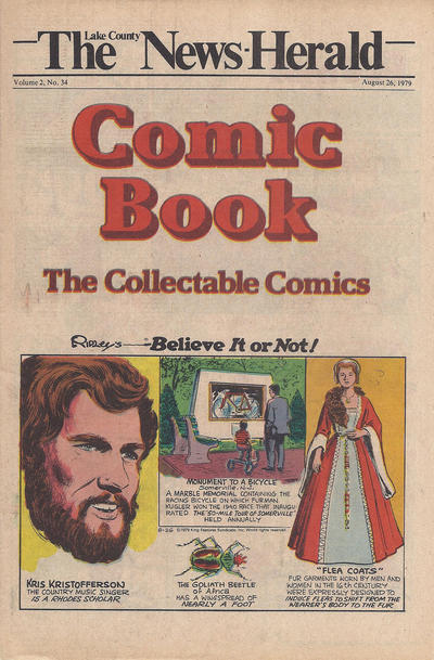 Cover for The News Herald Comic Book the Collectable Comics (Lake County News Herald, 1978 series) #v2#34