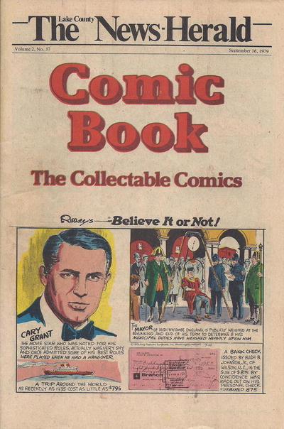 Cover for The News Herald Comic Book the Collectable Comics (Lake County News Herald, 1978 series) #v2#37