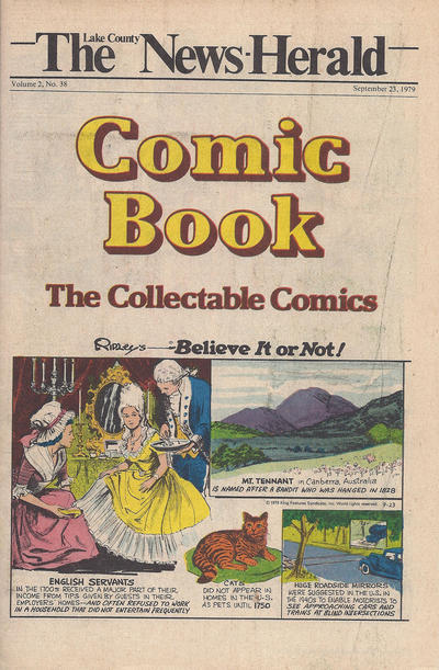 Cover for The News Herald Comic Book the Collectable Comics (Lake County News Herald, 1978 series) #v2#38