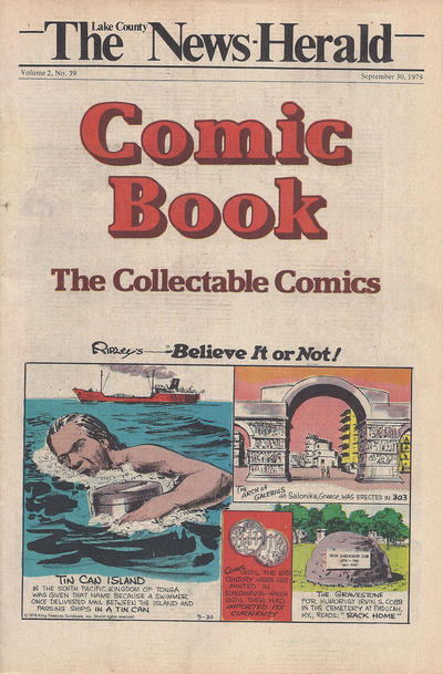 Cover for The News Herald Comic Book the Collectable Comics (Lake County News Herald, 1978 series) #v2#39