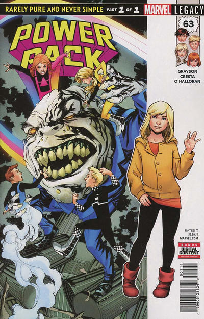 Cover for Power Pack (Marvel, 2018 series) #63