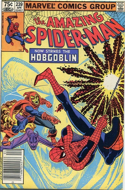 Cover for The Amazing Spider-Man (Marvel, 1963 series) #239 [Direct]