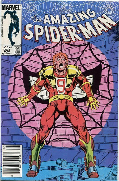 Cover for The Amazing Spider-Man (Marvel, 1963 series) #264 [Direct]