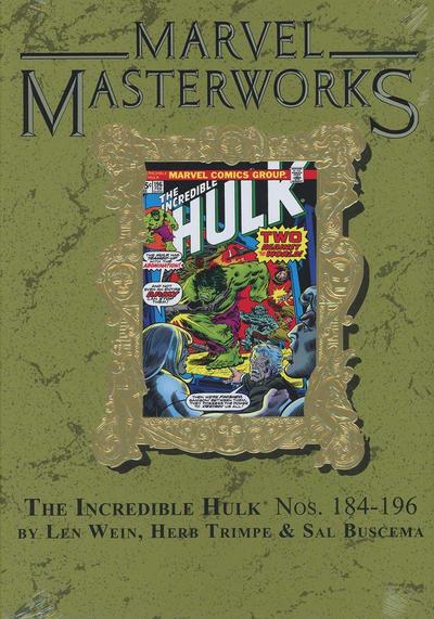 Cover for Marvel Masterworks: The Incredible Hulk (Marvel, 2003 series) #11 [Regular Edition]