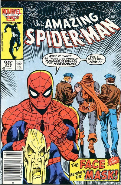 Cover for The Amazing Spider-Man (Marvel, 1963 series) #276 [Newsstand]