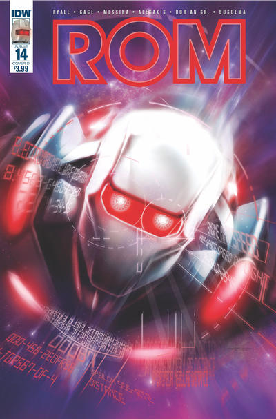 Cover for ROM (IDW, 2016 series) #14 [Cover A]