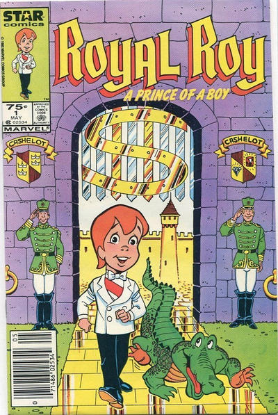Cover for Royal Roy (Marvel, 1985 series) #1 [Newsstand]