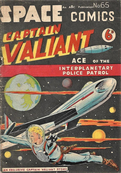 Cover for Space Comics (Arnold Book Company, 1953 series) #65