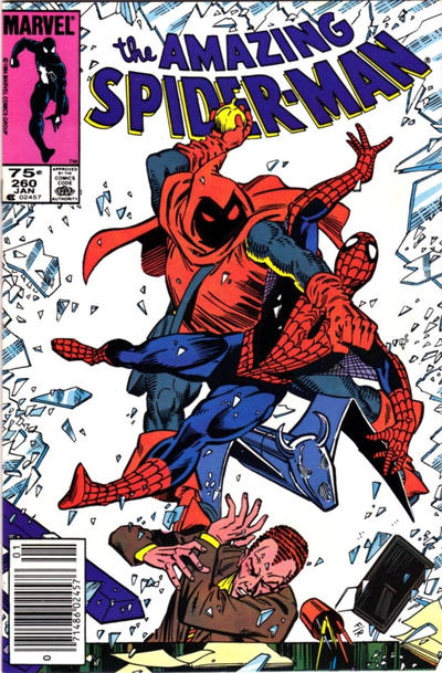 Cover for The Amazing Spider-Man (Marvel, 1963 series) #260 [Newsstand]