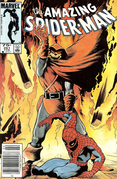 Cover for The Amazing Spider-Man (Marvel, 1963 series) #261 [Direct]