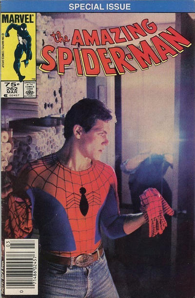 Cover for The Amazing Spider-Man (Marvel, 1963 series) #262 [Direct]