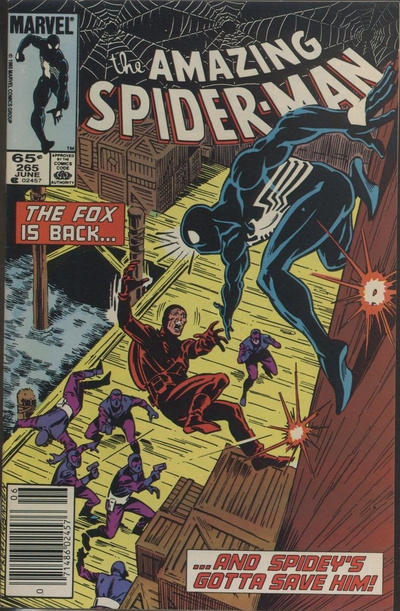 Cover for The Amazing Spider-Man (Marvel, 1963 series) #265 [Canadian]