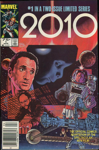 Cover for 2010 (Marvel, 1985 series) #1 [Direct]