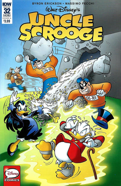 Cover for Uncle Scrooge (IDW, 2015 series) #32 / 436 [Cover B - Giorgio Cavazzano Variant]