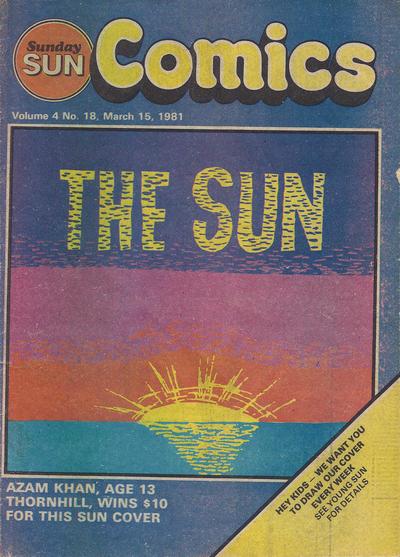 Cover for Sunday Sun Comics (Toronto Sun, 1977 series) #v4#18