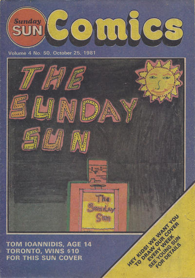 Cover for Sunday Sun Comics (Toronto Sun, 1977 series) #v4#50