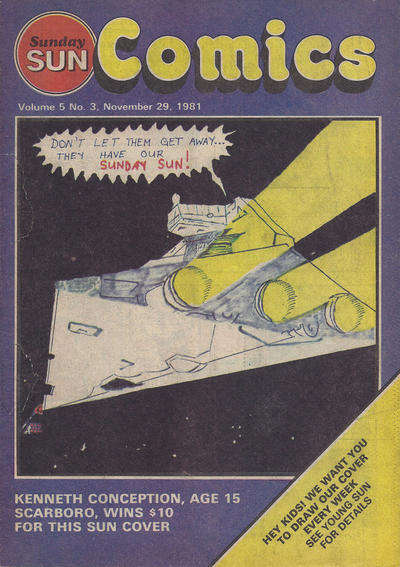 Cover for Sunday Sun Comics (Toronto Sun, 1977 series) #v5#3