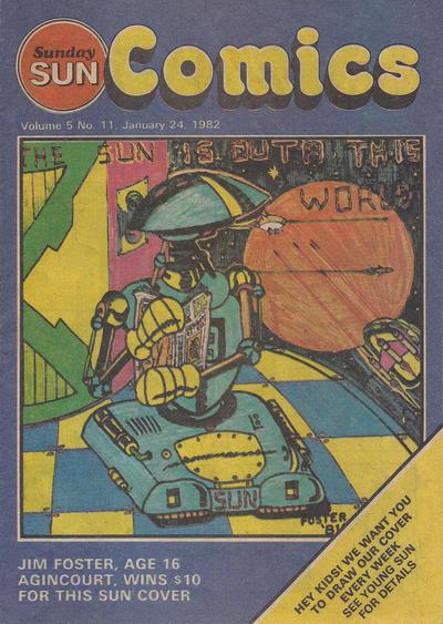 Cover for Sunday Sun Comics (Toronto Sun, 1977 series) #v5#11