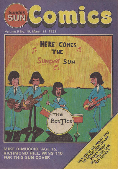 Cover for Sunday Sun Comics (Toronto Sun, 1977 series) #v5#19