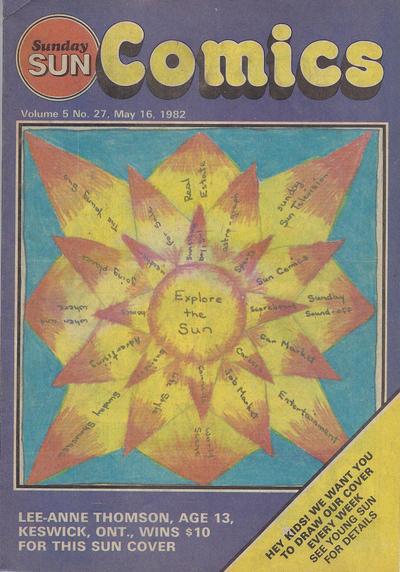 Cover for Sunday Sun Comics (Toronto Sun, 1977 series) #v5#27