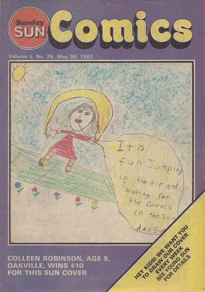 Cover for Sunday Sun Comics (Toronto Sun, 1977 series) #v5#29