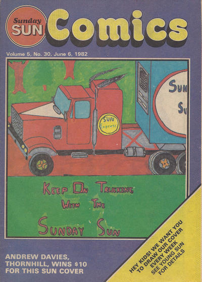 Cover for Sunday Sun Comics (Toronto Sun, 1977 series) #v5#30