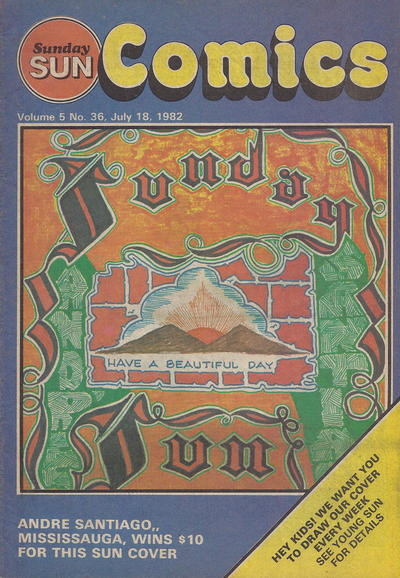 Cover for Sunday Sun Comics (Toronto Sun, 1977 series) #v5#36