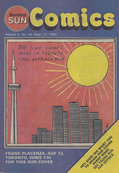 Cover for Sunday Sun Comics (Toronto Sun, 1977 series) #v5#44