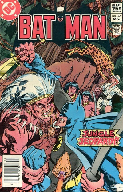 Cover for Batman (DC, 1940 series) #365 [Direct]