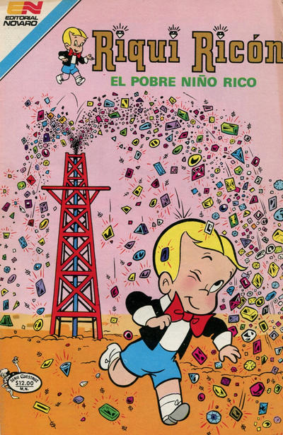 Cover for Riqui Ricón el Pobre Niño Rico (Editorial Novaro, 1979 series) #113